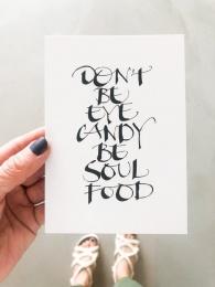 "Kort A6 - ""Soul Food"""