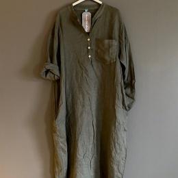 Limey Skjortklänning - Army