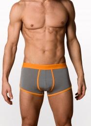 Boxer Briefs - Grey Orange