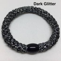 Supersnodden Hårband - Dark Glitter