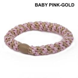 Supersnodden Hårband - Baby Pink/Gold