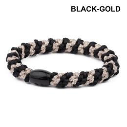 Supersnodden Hårband - Black/Gold