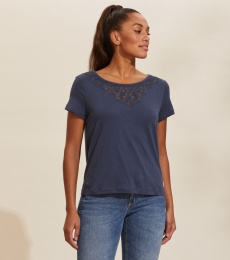 Camille T-shirt - Dark Blue