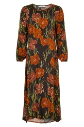 Numagery Dress - Seal Brown