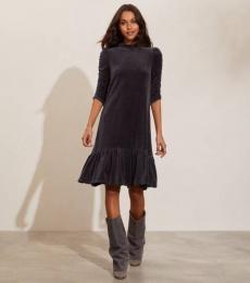 Marion Dress - Asphalt