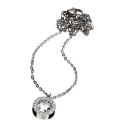 Thassos Necklace - Steel