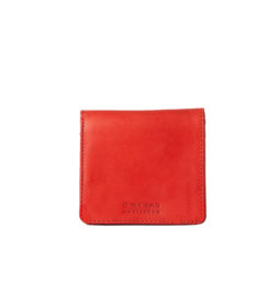 Alex Fold Over Wallet - Red Classic