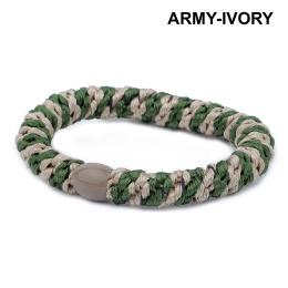 Supersnodden Hårband - Army/Ivory