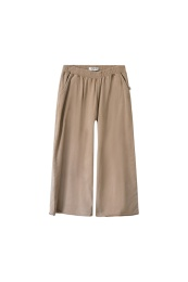 Bobby Wide Sweatpant Organic - Gold/Earth -