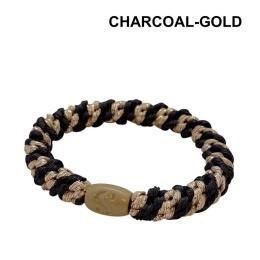 Supersnodden Hårband - Charcoal Gold