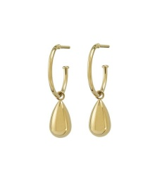 Drop Mini Earrings - Gold