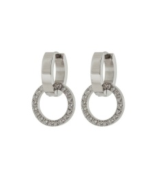 Eternal Orbit Earrings - Steel