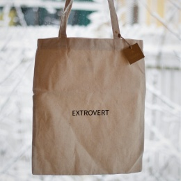 Tote Bag - Extrovert