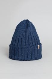 Mössa, Thick Rib Hat - Mörkblå