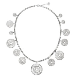 Farrah Necklace Multi - Steel