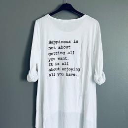 Happiness Topp - Vit