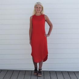 Ulrika Klänning - Röd