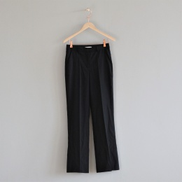 Biba Woven Suit Pants - Black