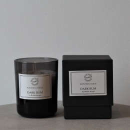 Doftljus Stort - Smoked Dark Rum