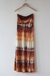 Arizona Bias Skirt - Terracotta Combo
