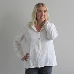 Abena basic shirt - White