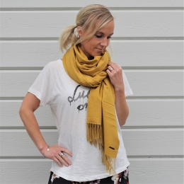 Marian Scarf - Golden Olive
