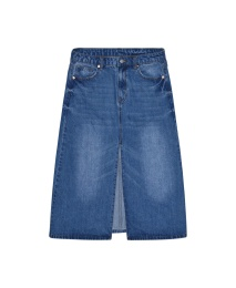 Jane Denim Skirt - Blue
