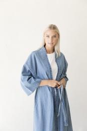 Jayden Denim Kimono - Blue