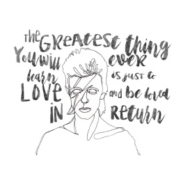 LW Print - Davie Bowie