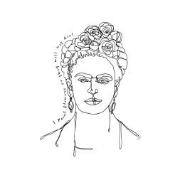 LW Print - Frida Kahlo