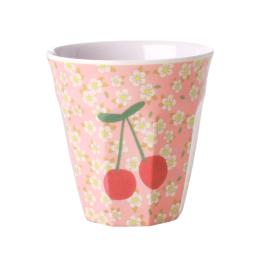 Medium Mugg - Blommor & Körsbär