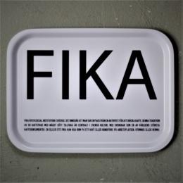 FIKA - Bricka 27x20 cm - Vit