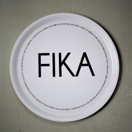 FIKA - Bricka 38cm - Vit