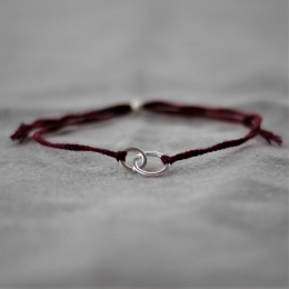 Connected - Burgundy/Silver