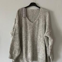 Mojo Sweater - Ljusgrå