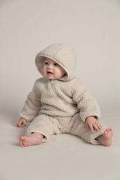 Perry Pile Overall - Cold Beige