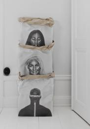 Warriors of the world - Craft paper bag