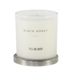 Scented Candle Clean - Black Honey