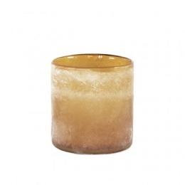 Frost Candleholder M - Amber