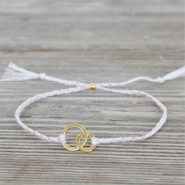 Connected - Gold/White