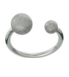 Atom Glittering Ring - Steel