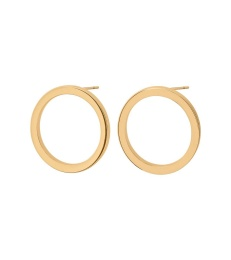 Circle Earrings Small - Gold