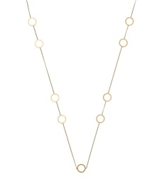Circle Necklace Multi - Gold