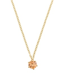 Crown Necklace - Gold Champagne