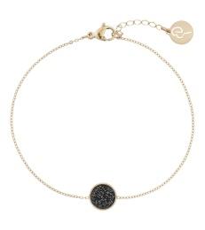 Estelle Bracelet - Black Gold