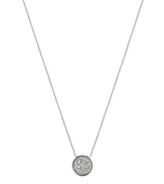 Estelle Necklace - Silvery Steel