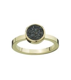 Estelle Ring - Black Gold
