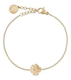 Floral Bracelet - Gold