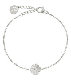 Floral Bracelet - Steel