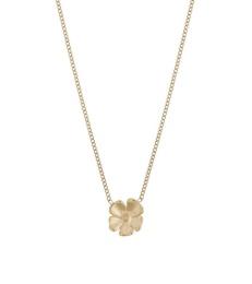 Floral Necklace - Gold